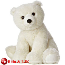 Meet EN71 and ASTM standard ICTI plush toy factory polar bear plush toy