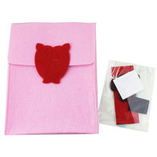 V-Day Diy Felt bagpack bolsa de artesanía