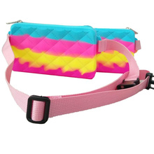 Silicone New Product Design Silicone Belt Bag