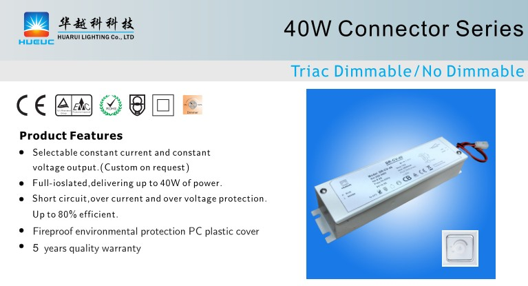 40w triac 12V ETL led driver