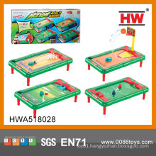 Most Popular 4 In 1 Plastic Mini Football Table Game Toy