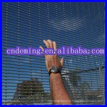 2014 Venda quente !!! Anti-Escalada PVC revestido 358 Wire Mesh Fence