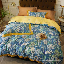 New Product Cheap Price Bedding Cotton Fabric Soft for Single Bed Duvet Cover Digital Printing