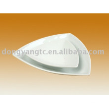 Factory direct wholesale porcelain snack tray