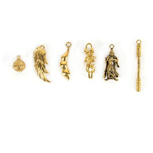 Brass Lost Wax Casting Parts For Jewelry Pendant