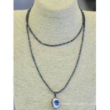 New Design Natural Eye Pendant Necklace Collection Jewelry