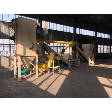 Copper Aluminum Radiator Recycling Machine Factory
