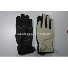 Mehcanic Перчатки-Рабочие Перчатки-Защитные Перчатки-Промышленные Перчатки-Кожаные Перчатки Труда Перчатки