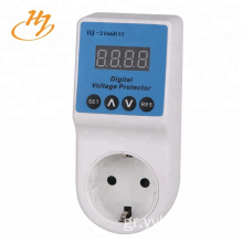 EU Plug LED Display 6600W-30A Surge Protector