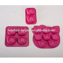 FDA approved HQ silicone Hello kitty shape cake mold