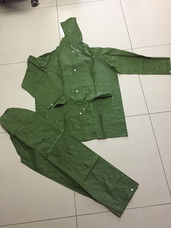 Army Green Rain suit