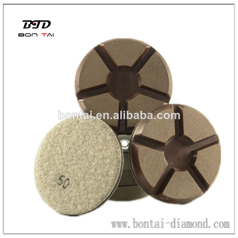 Transitional Copper Bond Polishing Pad for removing the scratches
