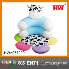 Cartoon Functional inflável Baby Sofa com tapete de jogo