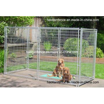Gabinetes para perros soldados galvanizados de servicio pesado