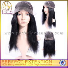 Factory Price Brazilian Hand Made Virgin Straight Layer Full Lace Remy Hair Wigs