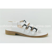 2016ss Comfortable Lady Leather Sandal