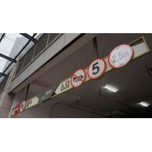 Parque de coche de techo LED direccional muestra signo de Drectional de rampa de aparcamiento