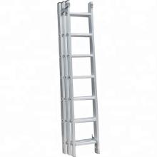 Escada de extensão de 3 camadas