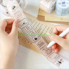 Retro Designs Writable Masking Tape for Gift Packing Decoration