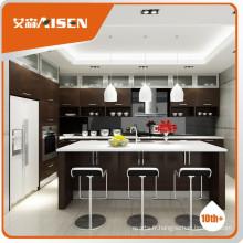 Populaire pour le design du cabinet de cuisine du marché du Canada, design de cuisine moderne, armoire de cuisine