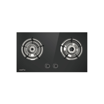 Dizajni i modës 2 Burner Built-in Gas Hob