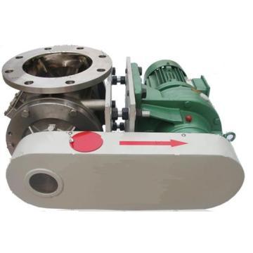 Alimentador rotativo para materiales sólidos de pellets en polvo