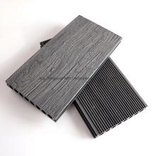 Elegant 3D Embossing Vivid Wood Texture WPC Wood Plastic Composite Decking Floor