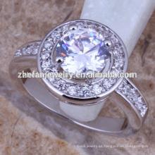 anillo de descuento Pareja anillo de bodas diamante joyería bijouterie proveedor de China
