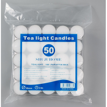 Tealights warna putih lilin putih uk