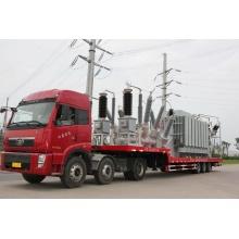 trailer type mobile substation transformer