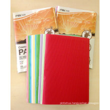 10 Colors Mixed Corrugated Paper