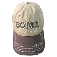 (LW15034) Bonnet en coton personnalisé en pierre lavé