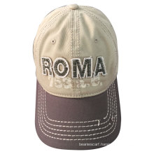 (LW15034) Custom Stone Washed-out Cotton Cap
