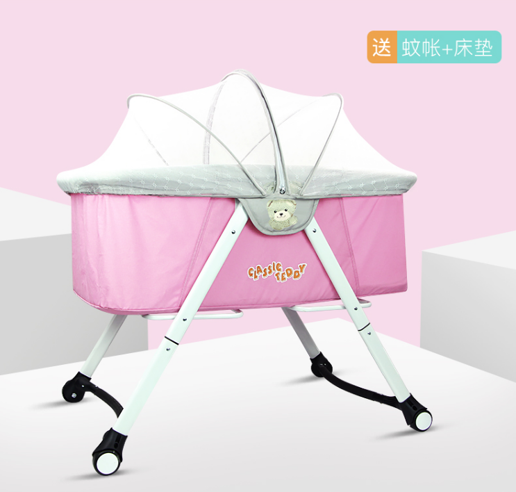 Toddler Folding Cot Bed