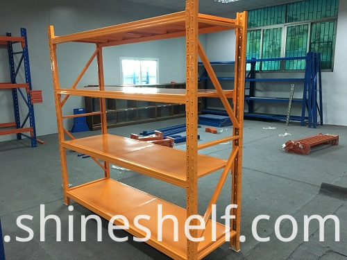 Boltless Shelves Orange