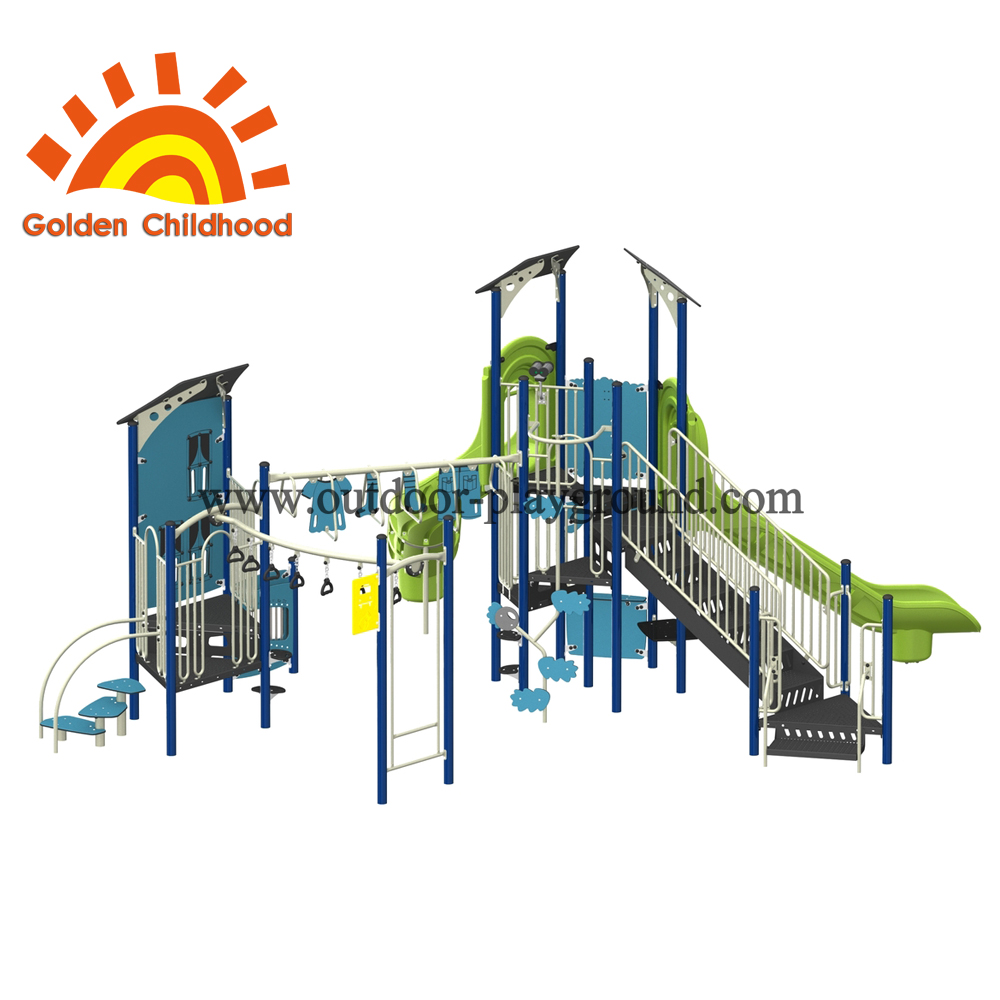Playhouse 2 Outdoor Playground Equipment For Fun