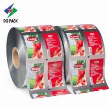 Пластиковый рулон DQ PACK для упаковки пищевых продуктов