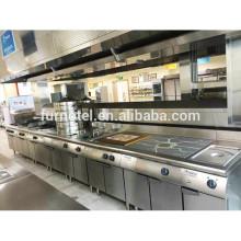 All Styles Hot Sale Indian Restaurant Equipment List Kitchen Cooking Machine