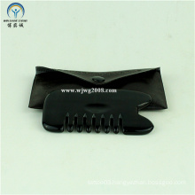 Bian Stone (Black) Meridian Scraping Comb Gua Sha Tools (G-3A) Acupuncture