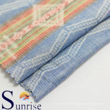 100 % Baumwolle Jacquard Stoff für Kleidung