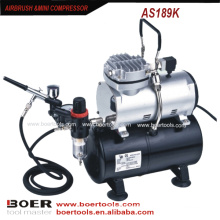 Airbrush Compressor Kit mit 3L Tank bilden den Kompressor