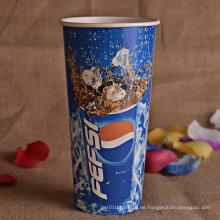 8oz 12oz 16oz 20oz Custom gedruckt kaltes Getränk Pappbecher