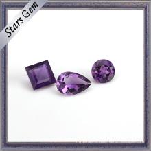 Clear Purple Natural Semi Precious Amethyst Gemstone for Jewellery