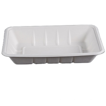 ecofriendly bamboo paper pulp food container takeaway sushi box product disposable