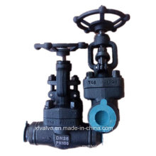 High Pressure Forged Carbon Steel A105 Welding End Globe Valve