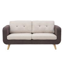 2016 nuevo sofá moderno de la tela de la sala de estar fijado