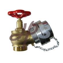L102 высокое качество бронзовый пожарный шланг клапан с алюминиевой крышкой