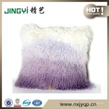 Venta al por mayor de Pure Tibet Lamb Fur Cojines