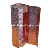 Embalagem de papel de luxo Gift Round Wine Box