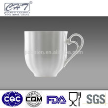 Good quality white porcelain tea coffee cup wholesale